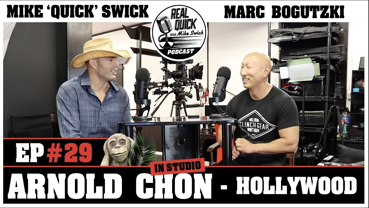 RQMS Podcast Ep 29: The Hollywood Cowboy with stuntman Arnold Chon