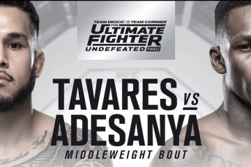 TUF 27 Finale Event Results