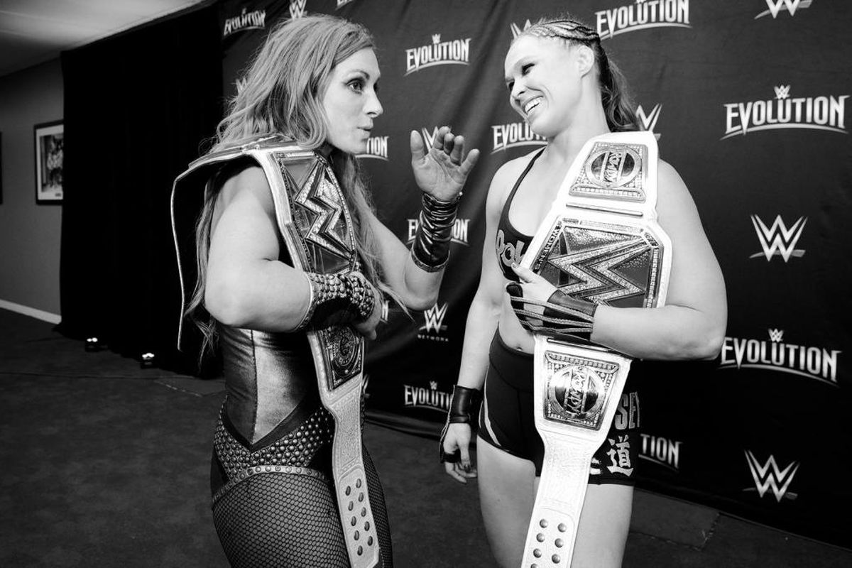 bloody-becky-lynch-attacks-rousey-beats-silly