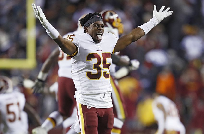 Washington Redskins safety, Montae Nicholson, streetfight smashing