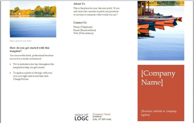 Company Brochure Template 03
