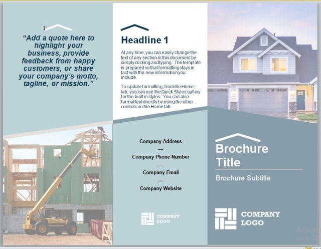 Company Brochure Template 22