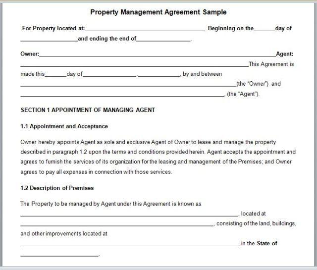 Property Management Agreement 14