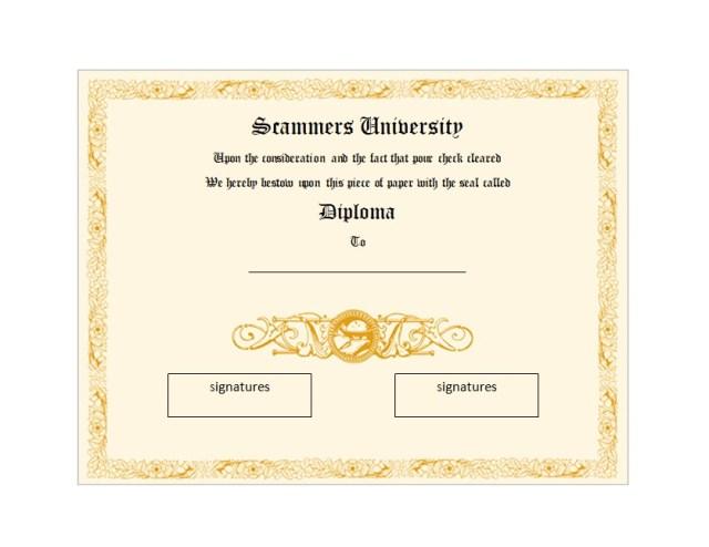 Diploma Certificate Template 02