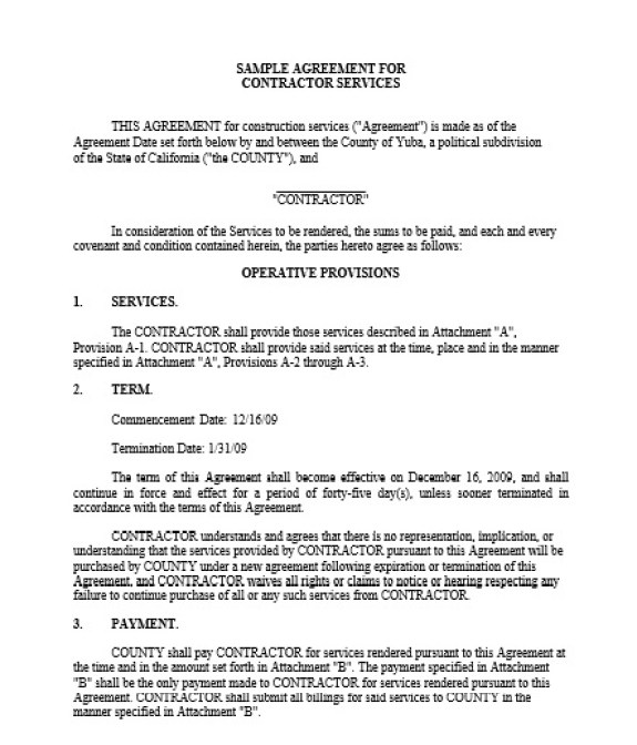 Service Agreement Template 02