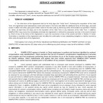 21 Free Service Agreement Templates
