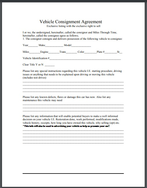 Consignment agreement template 11