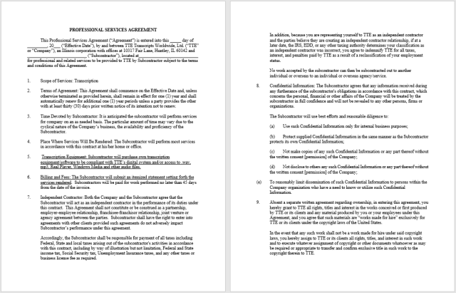 Consultancy Agreement Template 11..