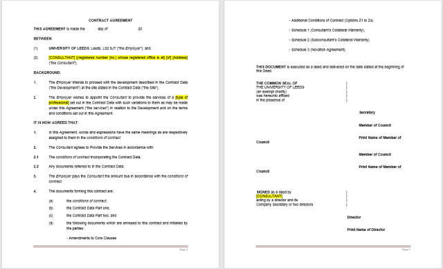 Consultancy Agreement Template 14.