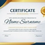 20 Free Certificate Of Achievement Templates