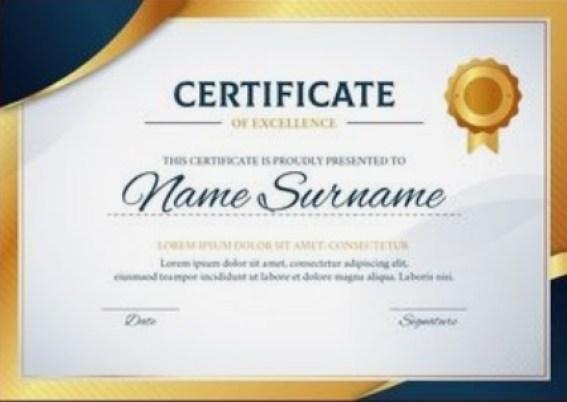 certificate of achievement template 09