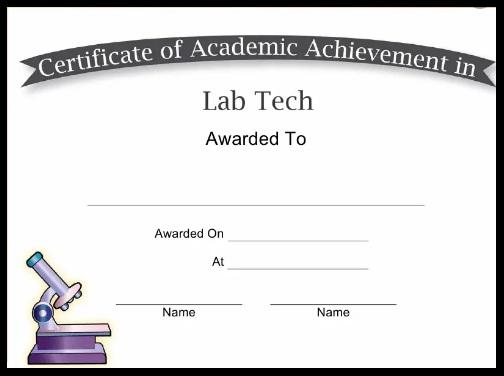 certificate of achievement template 14