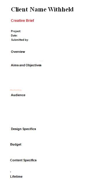 creative brief template 07