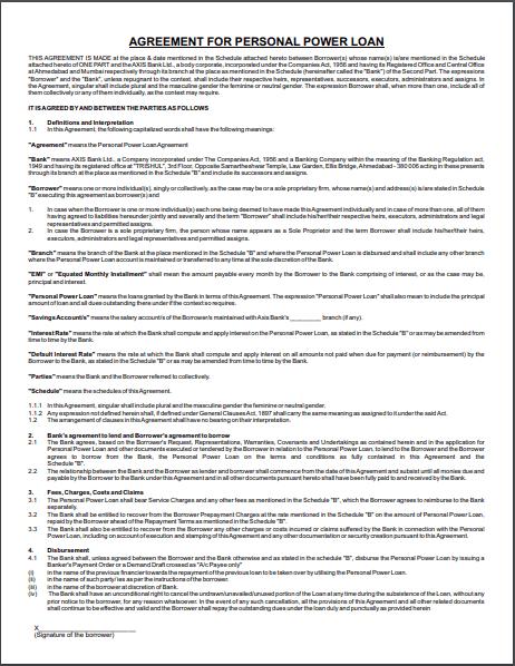 loan agreement template 13