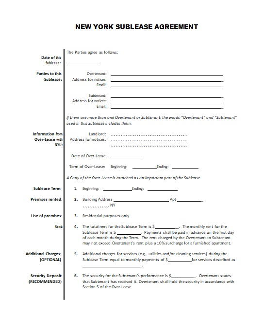 roommate agreement template 19