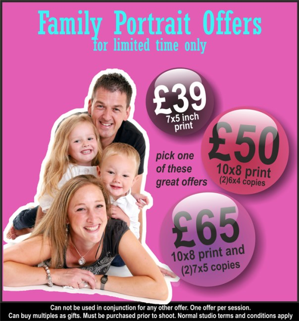 new portrait offer at Mike Turner Photography