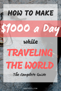 Find out how Mike Vestil makes $1000 a day while traveling the world.