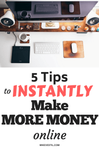 Find out how to instantly make more money online