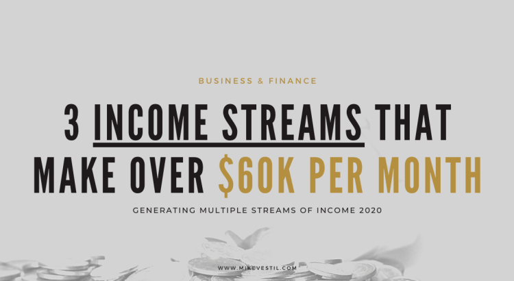 3 income streams that make multiple streams of income