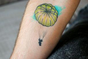 Brad Guy parachute