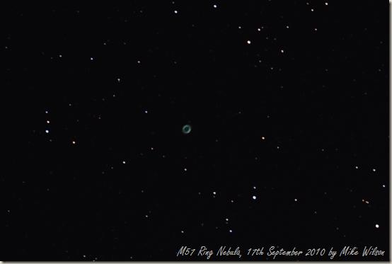 M57 - Ring Nebula (17-09-2010)