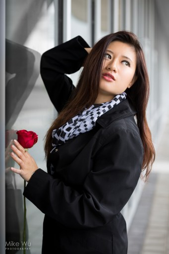 fashion editorial model vancouver rose