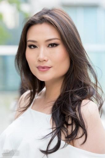 model vancouver headshot photoshoot asian lady