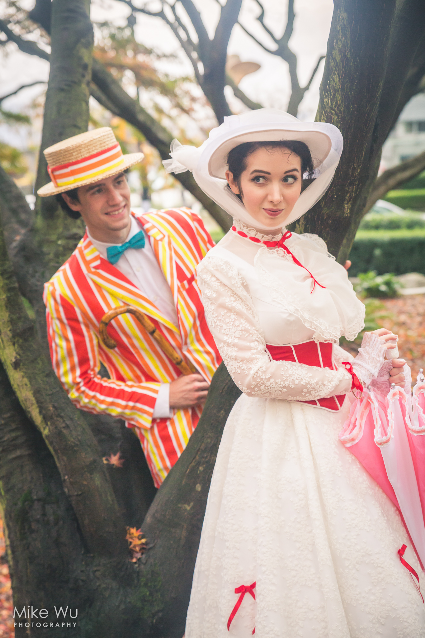 cosplay, mary poppins, bert, couple, pair, classic, movie, mimi reaves, dick charming