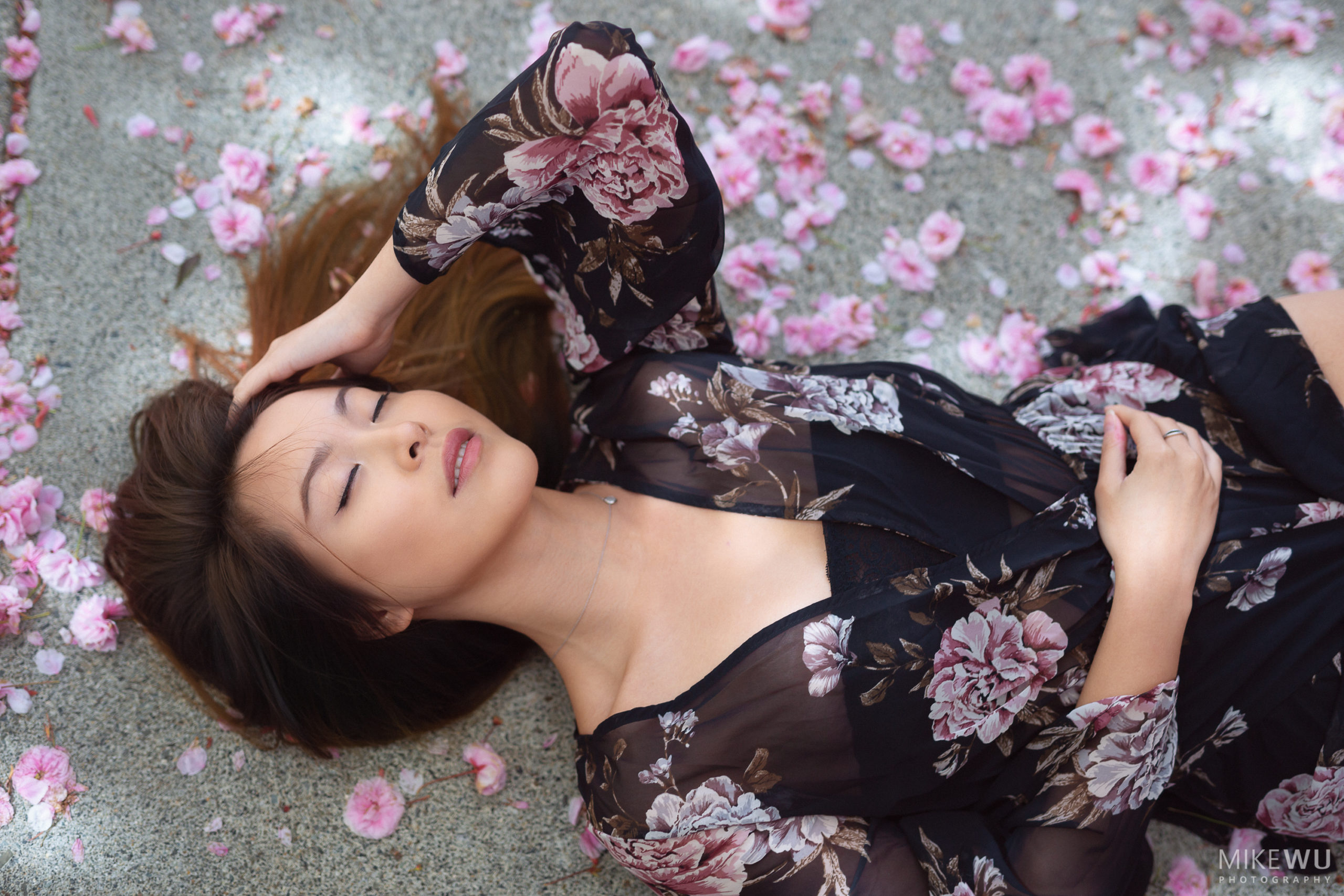 vancouver portrait photographer mike wu cherrry blossom female fine art mike wu photography cherieleexo beauty artistic spring chinese asian