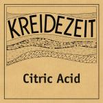 Kreidezeit Citric Acid label