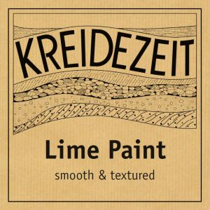 Kreidezeit Lime Paint - Smooth & Textured