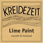 Kreidezeit Lime Paint - Smooth & Textured label