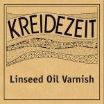 Kreidezeit Linseed Oil Varnish label