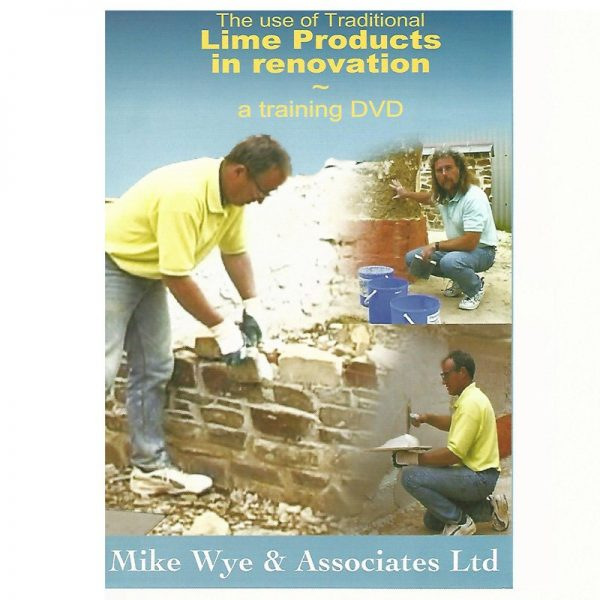 Using Lime in Renovation DVD
