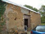 Devon Cob barn with cement repairs