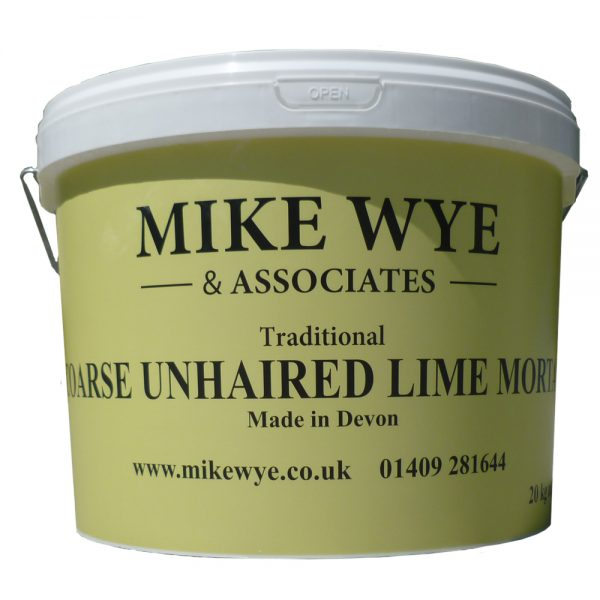 Unhaired Lime Mortar