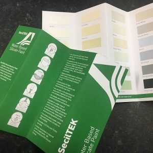 SecilTEK Silicate Paint Colour Chart