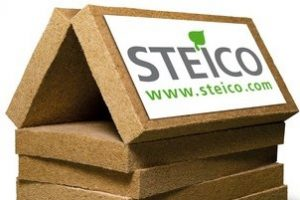STEICO Wood Fibre logo home