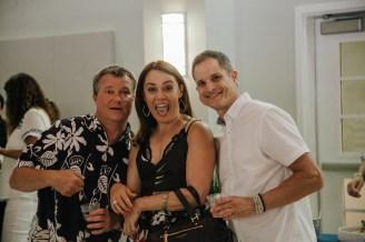 Shaun Malay, Michelle Feeney, and Peter Gakos