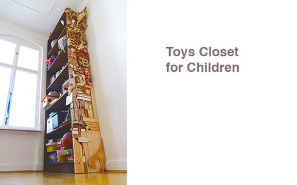 Spielzeugschrank für Kinder