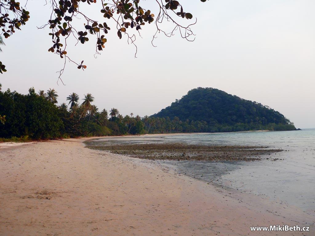 koh chang opuštěná pláž