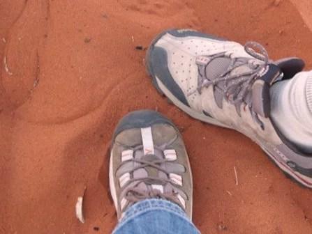 Deserto vermelho da Australia