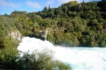 Huka Falls by Mirella Mikix