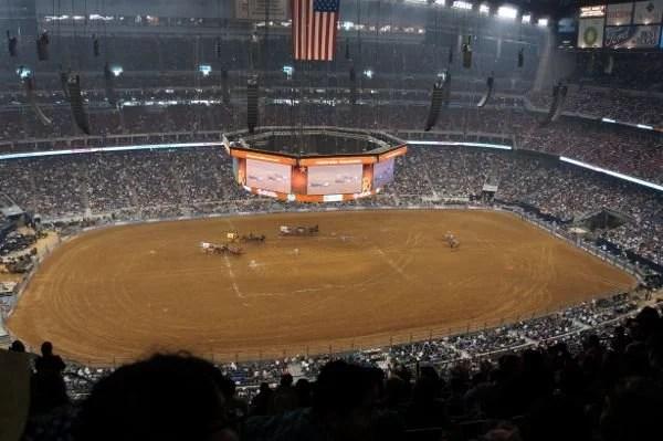 Arena no Rodeo Houston