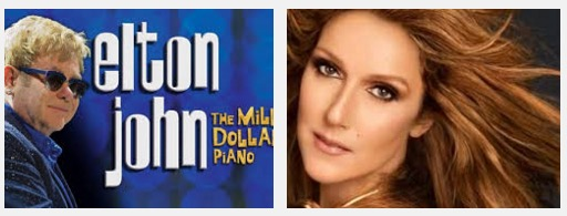 Show do Elton John e Celine Dion