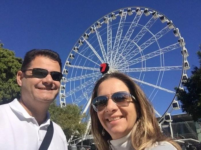 Casal Mikix em Brisbane
