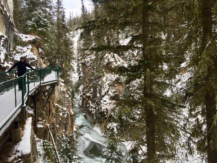 Johnston Canyon, Canadá