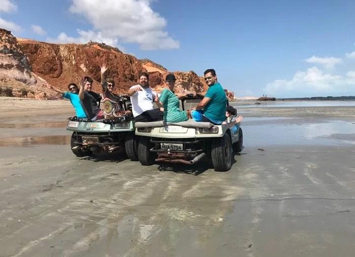 Passeio de Buggy na praia de Peroba, Ceará