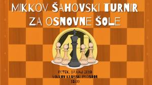 12. MIKKov šahovski turnir za osnovne šole