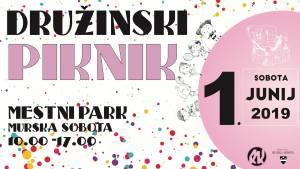 Družinski piknik 2019 @ Mestni park Murska Sobota